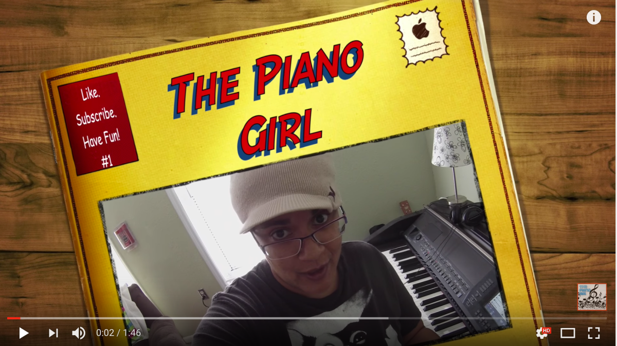 Hey, it's The Piano Girl, and she's got a blog