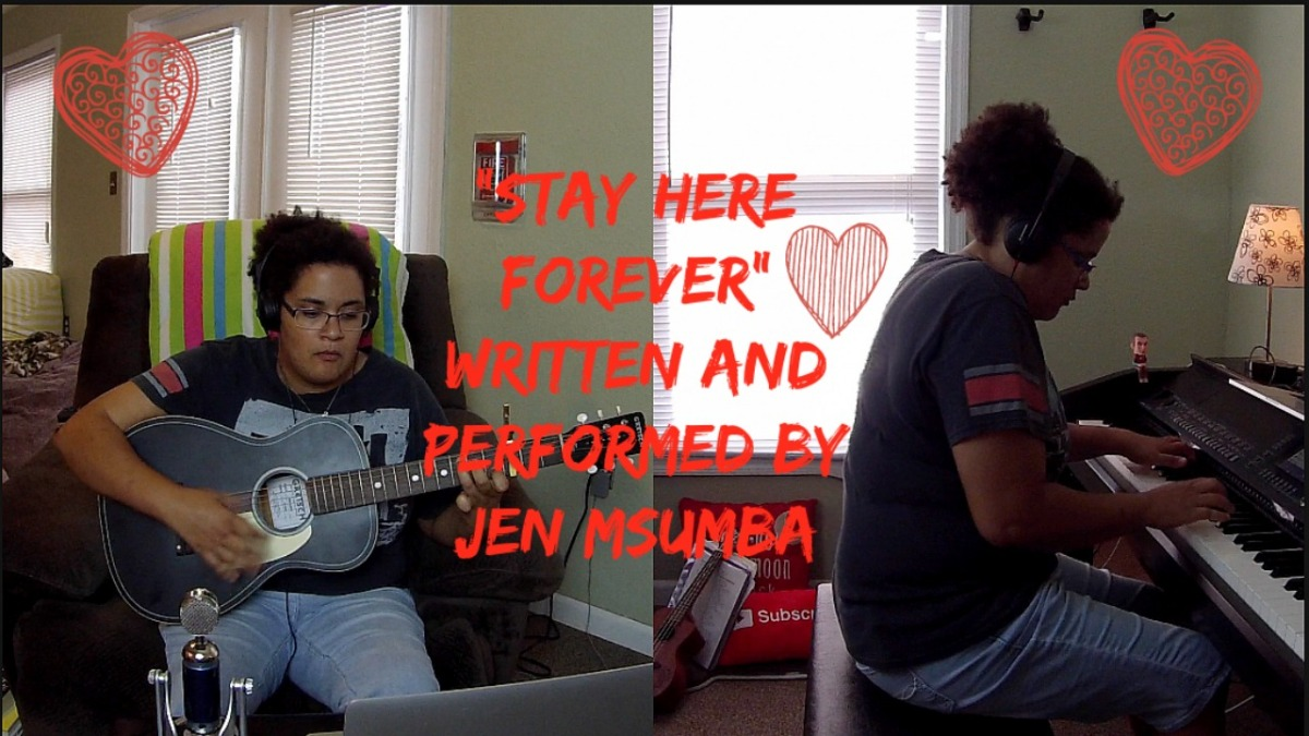 Stay Here Forever- Written and Performed by Jen Msumba