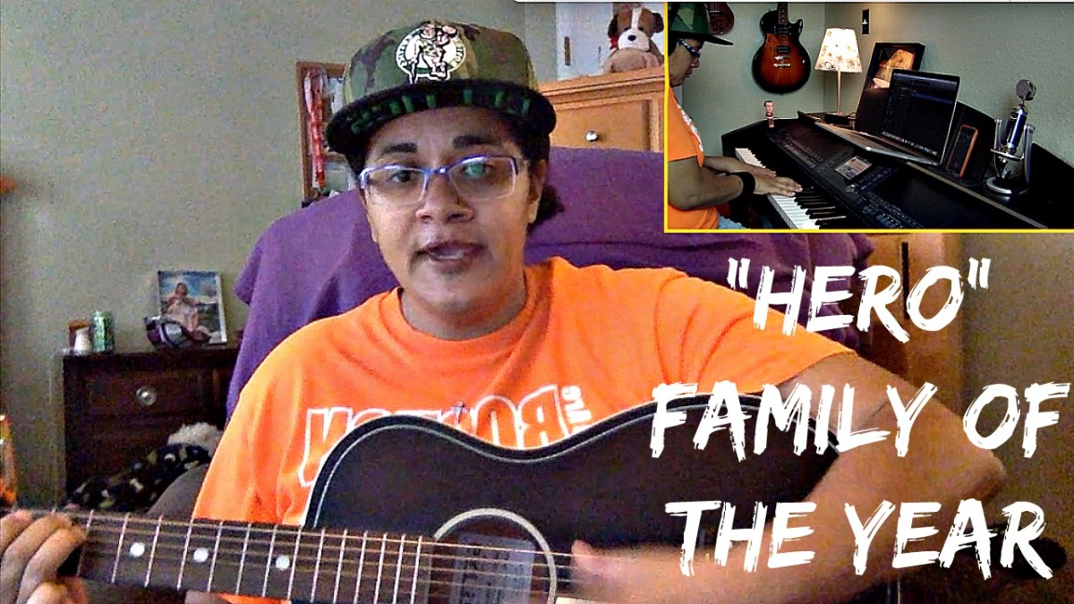 Hero- Family Of The Year (Vocal w/Guitar and Piano)