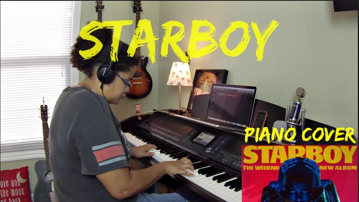 Starboy- The Weeknd (Piano Cover)