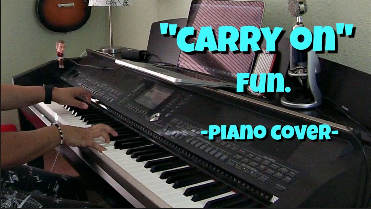 Carry On- Fun. (Piano Cover by JenMsumba)