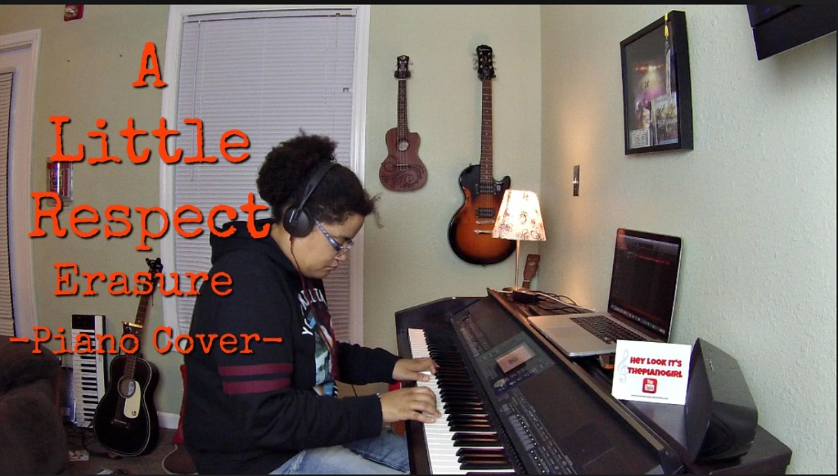 A Little Respect- Erasure (Piano Cover by Jen Msumba)