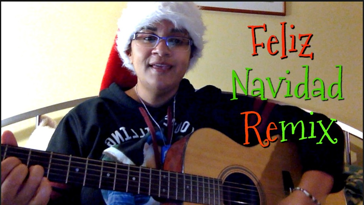 Feliz Navidad Remix- Vocal w/Guitar Cover by Jen Msumba