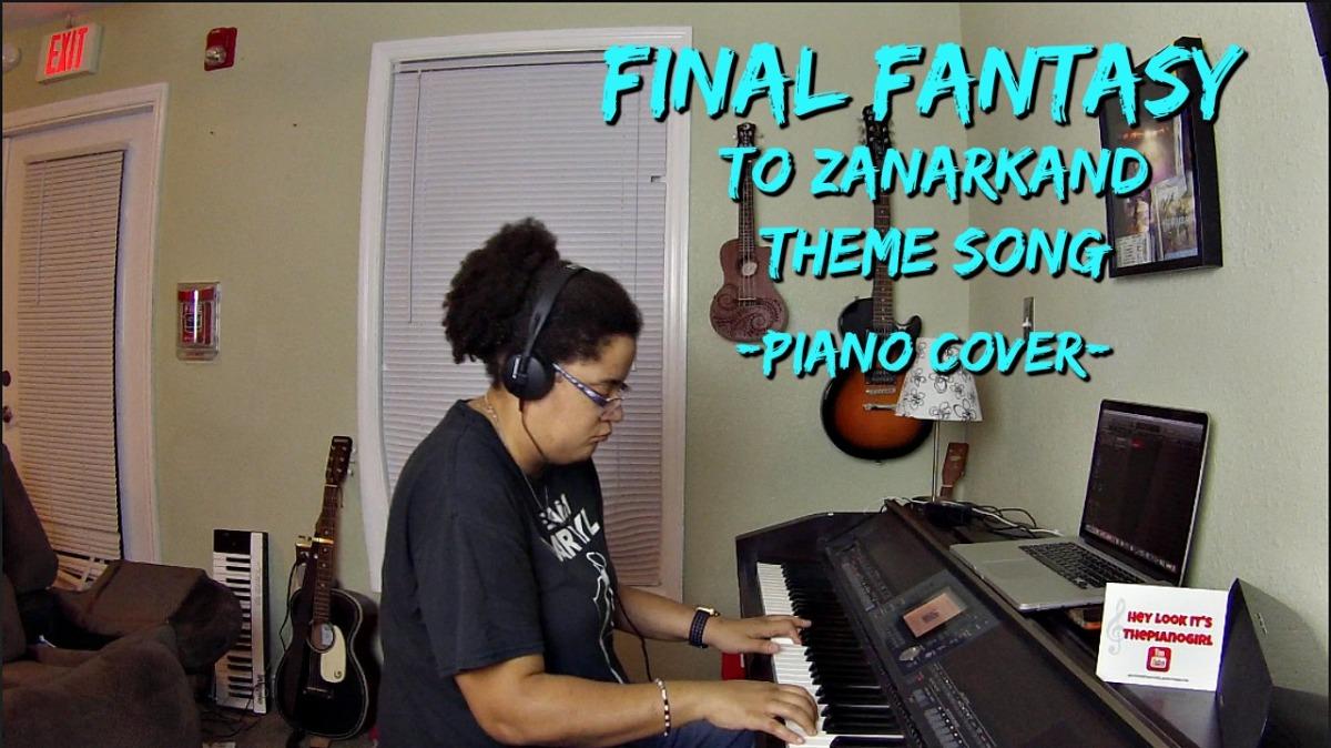 Final Fantasy X OST: To Zanarkand (Piano Cover by JenMsumba)