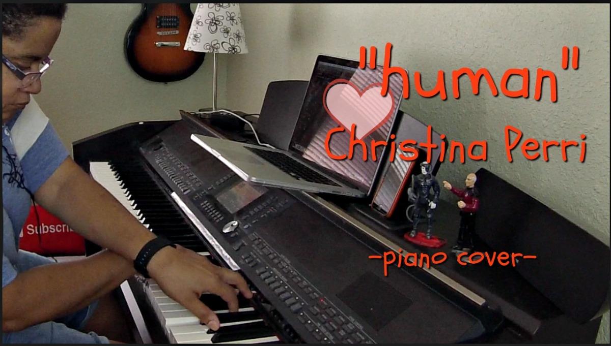 Human- Christina Perri (Piano Cover by JenMsumba)