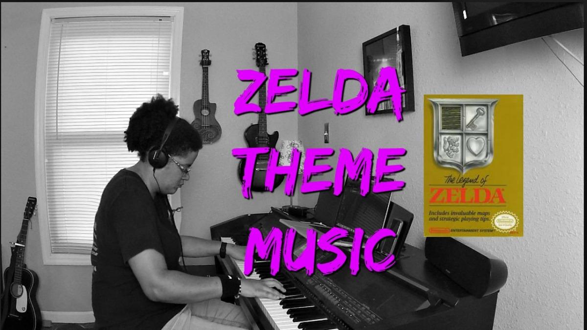 (Original) Zelda Theme Music- Piano Cover by JenMsumba